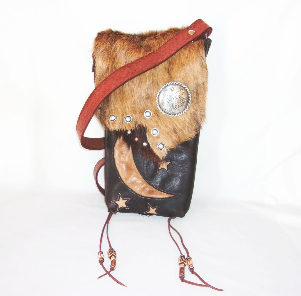 Hair on Hide Bag HH11 - Cowboy Boot Purses by Chris Thompson for Distinctive Western Fashion