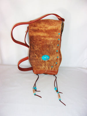 Hair on Hide Bag HH20 - Cowboy Boot Purses by Chris Thompson for Distinctive Western Fashion