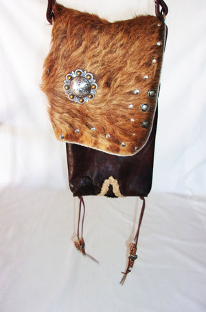 Hair on Hide Bag HH21 - Cowboy Boot Purses by Chris Thompson for Distinctive Western Fashion