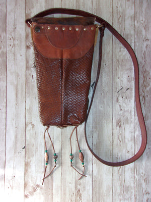 Hair on Hide Bag HH23 - Cowboy Boot Purses by Chris Thompson for Distinctive Western Fashion