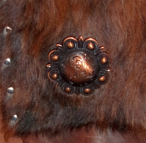 Hair on Hide Bag HH33 - Cowboy Boot Purses by Chris Thompson for Distinctive Western Fashion