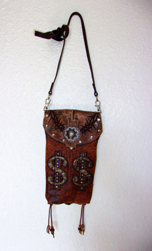 Hipster Cross-Body Cowboy Boot Purse HP474