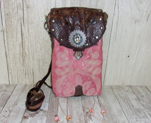 Western Crossbody Purse – Cowboy Boot Purse – Handcrafted Purse – Leather Hipster HP629