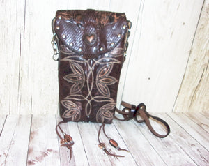 Hipster Cross-Body Cowboy Boot Purse HP640