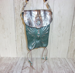 Hipster Cross-Body Cowboy Boot Purse HP701