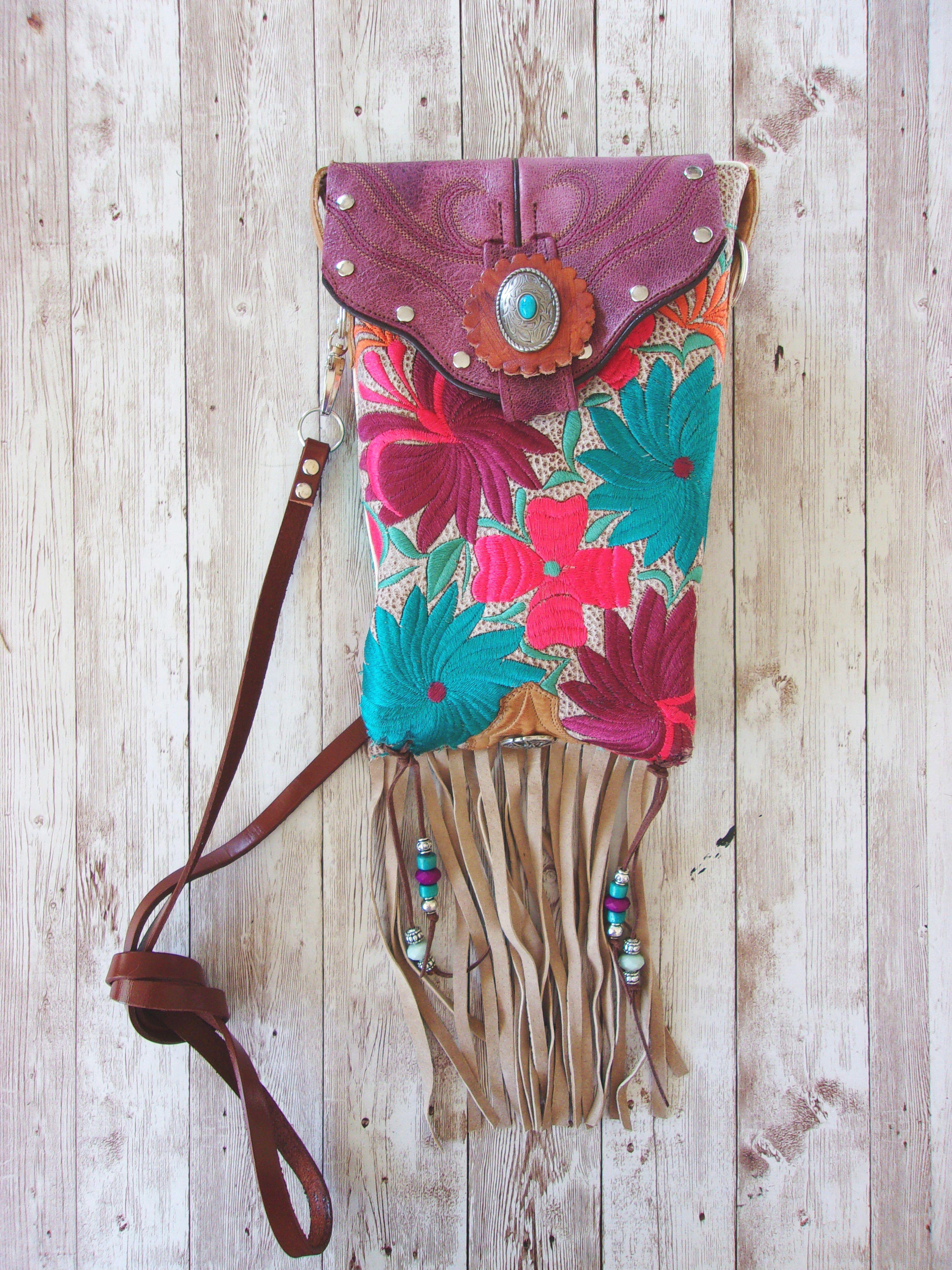 Western Crossbody Purse – Cowboy Boot Purse – Handcrafted Purse – Western Hipster HP777
