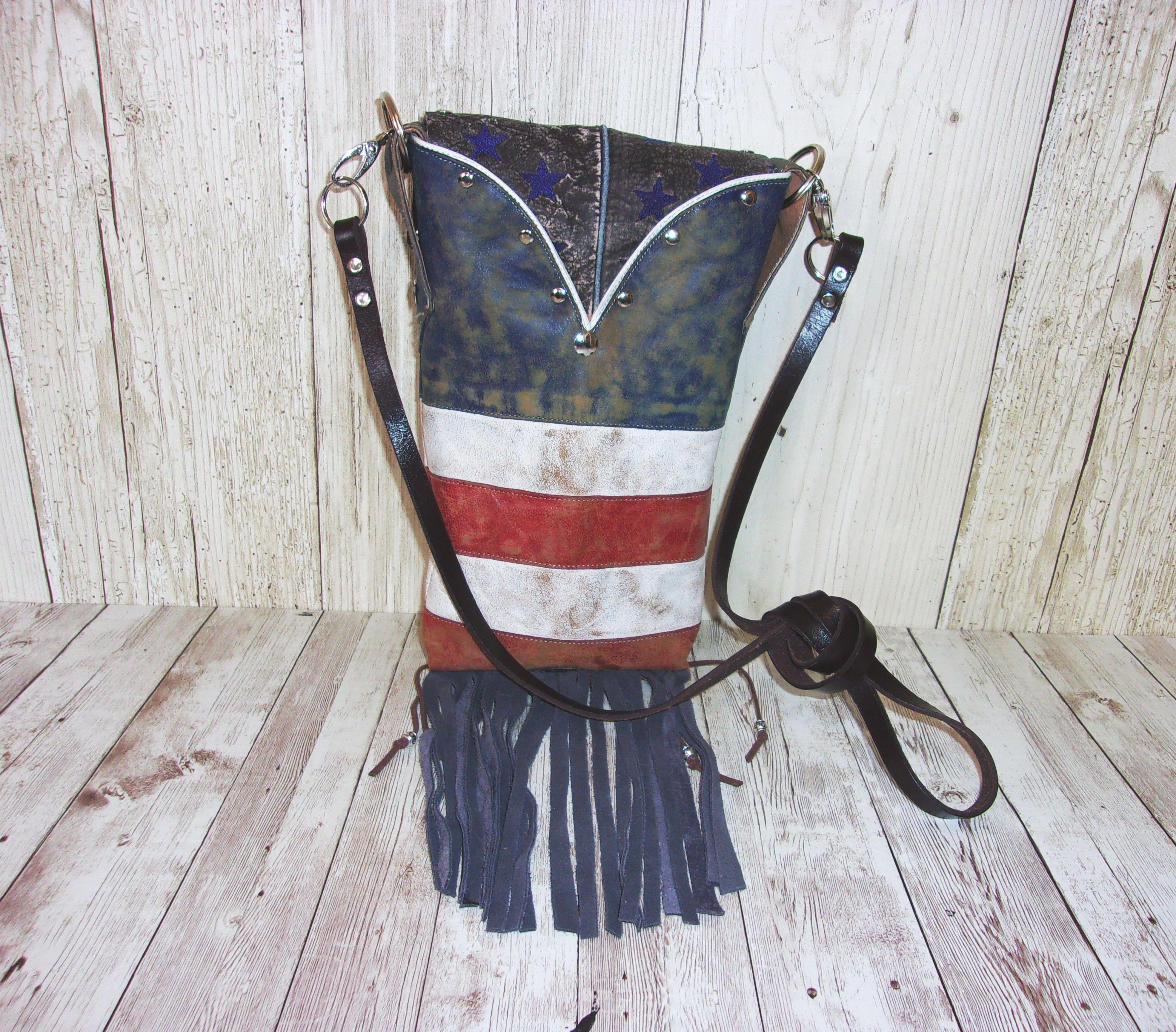 Western Crossbody Purse – Cowboy Boot Purse – Handcrafted Purse – Western Hipster HP782