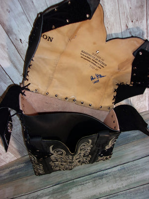 Motorcycle Swing Arm Solo Bag SA12 - Distinctive Western Handbags, Purses and Totes