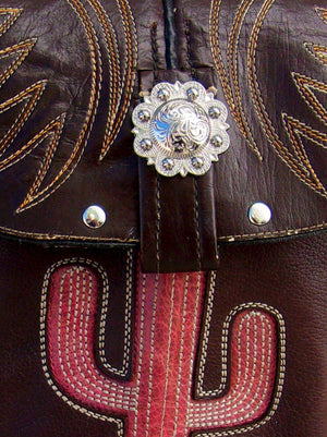 Small Cowboy Boot Cross-Body Purse sm64