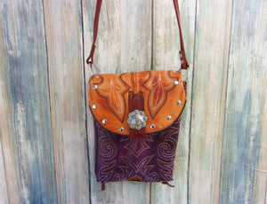 Small Western Purse - Cowboy Boot Purse - Small Western Bag - Sporran Kilt Bag sm67