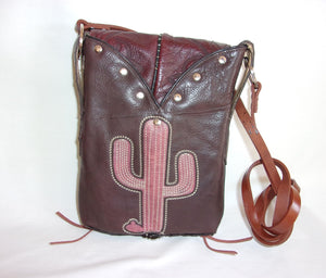 Small Cowboy Boot Cross-Body Purse sm68