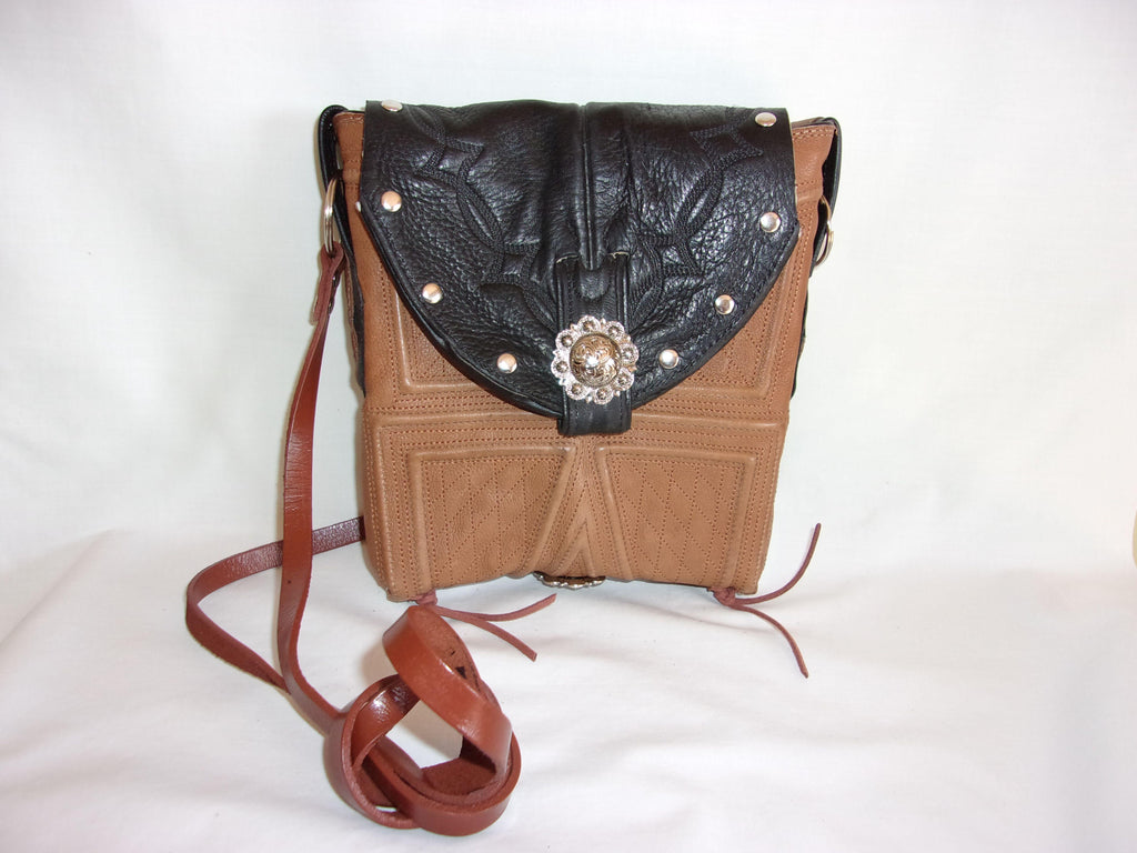 Small Western Purse - Cowboy Boot Purse - Small Western Bag - Sporran Kilt Bag sm77 cowboy boot purses, western fringe purse, handmade leather purses, boot purse, handmade western purse, custom leather handbags Chris Thompson Bags