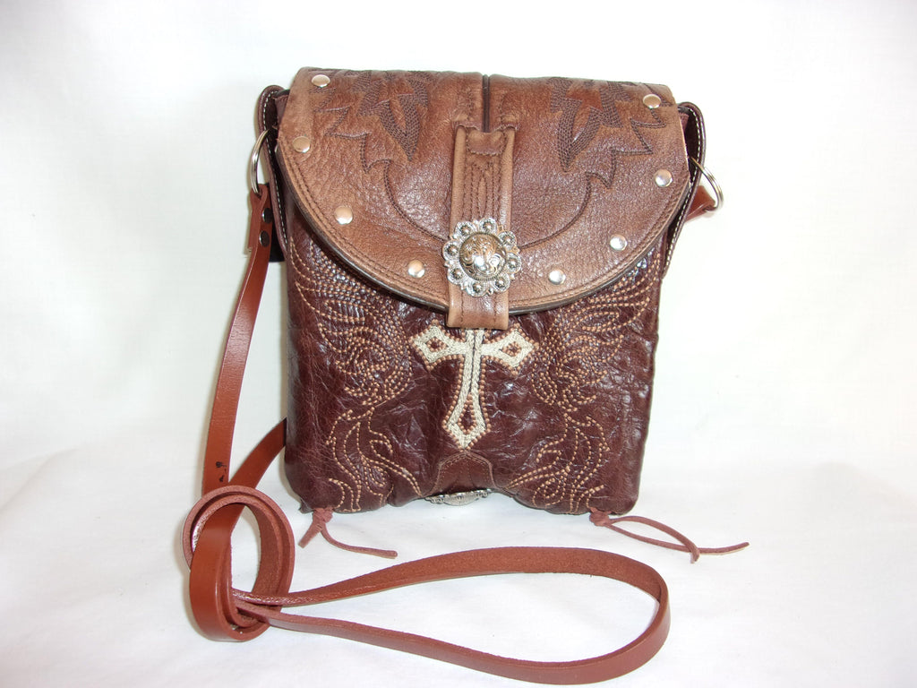 Small Cowboy Boot Cross-Body Purse sm79