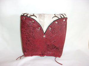 Small Cowboy Boot Cross-Body Purse sm83 - handcrafted handbags - cowboy boot purses - western purses - western handbags - western conceal carry purses - unique swing arm bags - Chris Thompson Bags
