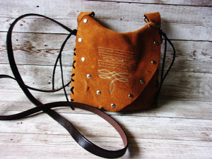 Small Cowboy Boot Purse - Western Crossbody Bag - Handcrafted Hipster SB22 cowboy boot purses, western fringe purse, handmade leather purses, boot purse, handmade western purse, custom leather handbags Chris Thompson Bags