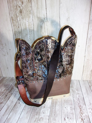 Cowboy Boot Purse Shoulder Bag TS270