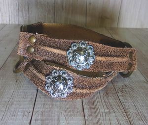 Boot Decorations - Boot Wraps - Boot Bling - Boot Jewelry (Pair) wr10 - handcrafted handbags - cowboy boot purses - western purses - western handbags - western conceal carry purses - unique swing arm bags - Chris Thompson Bags