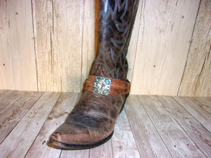 Boot Decor (Single) wr29 - handcrafted handbags - cowboy boot purses - western purses - western handbags - western conceal carry purses - unique swing arm bags - Chris Thompson Bags