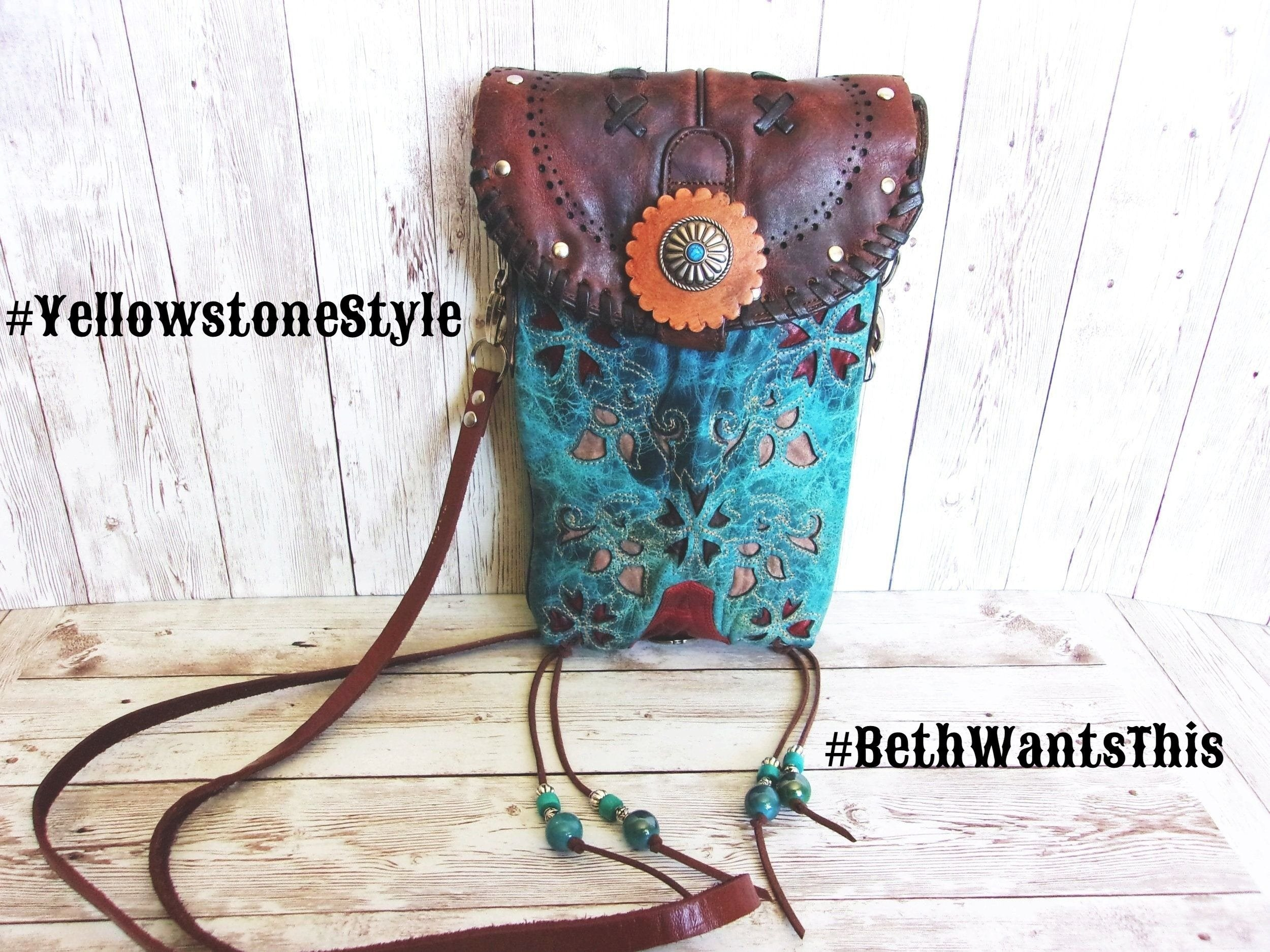 Unique Handcrafted Cross-Body Bags from $129 - Distinctive Western Handbags, Purses and Totes