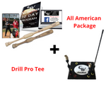 CamWood Trainer + One Hander + Drill Pro Tee (Free AA Program & Custom Tee Logo)