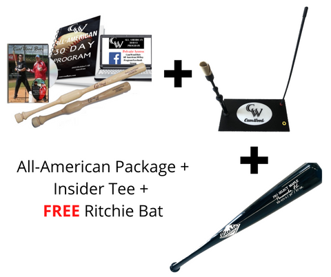 All American Package + FREE Ritchie Bat + Insider Tee