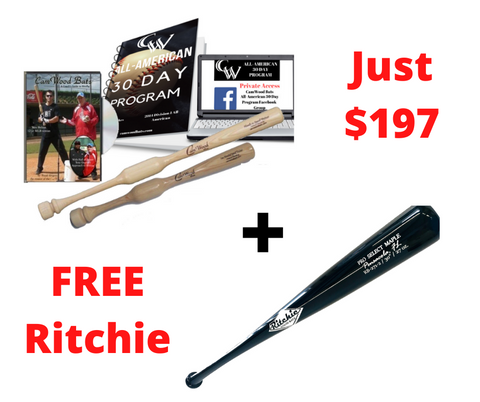 All-American Package + FREE Ritchie Bat