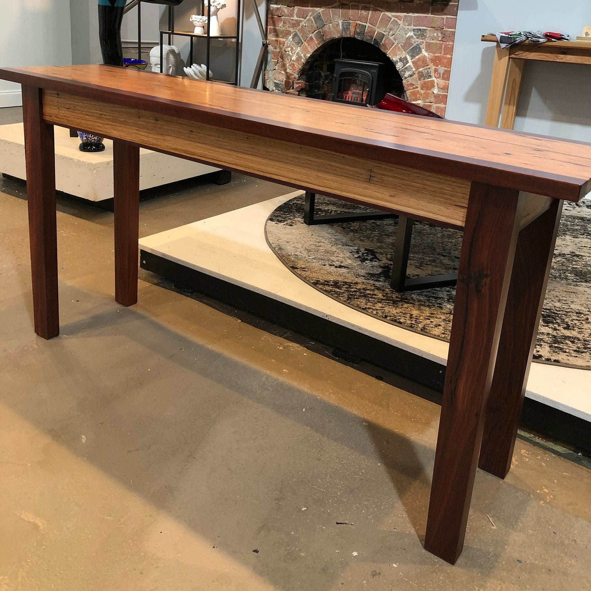 Hall Table - Messmate & Jarrah