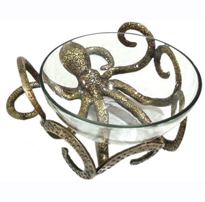 Octopus Bowl - Gold