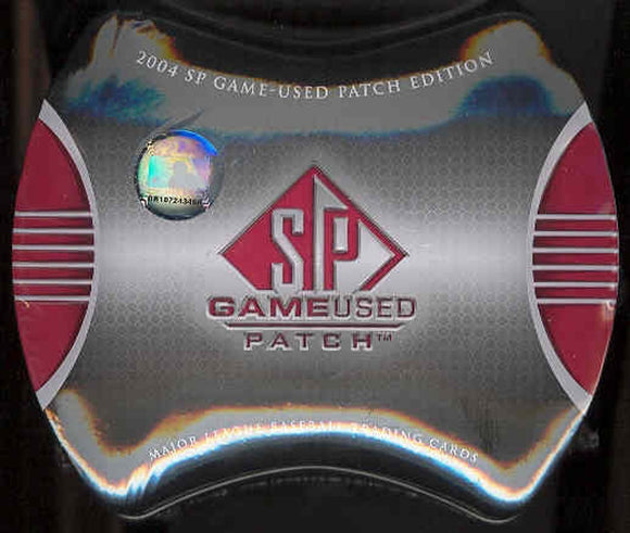 2004 Upper Deck SP Game Used Patch Baseball 4-Box Break #1 *BOX DRAFT*