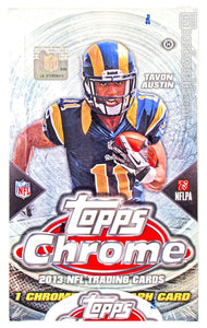 2013 Topps Chrome Football Hobby Personal Box