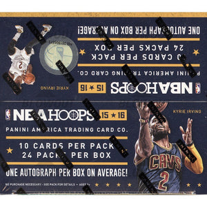 2015-16 Panini NBA Hoops Basketball 24ct Retail Box