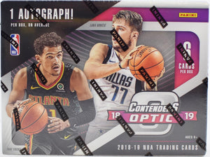 2018-19 Panini Contenders Optic Basketball Hobby Personal Box Break