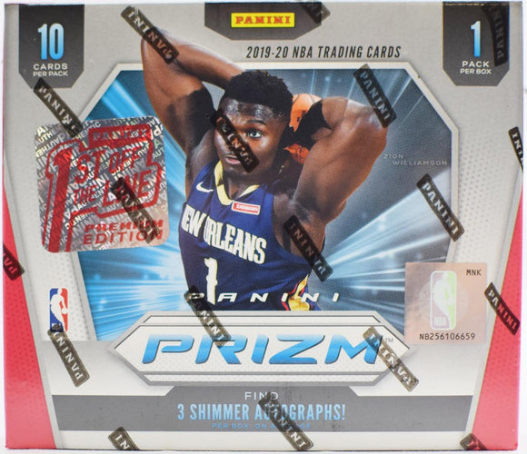 2019/20 Panini Prizm 1st Off The Line FOTL First off the Line Basketball Hobby Box