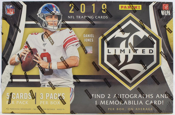 2019 Panini Limited Football Hobby Personal Box Break