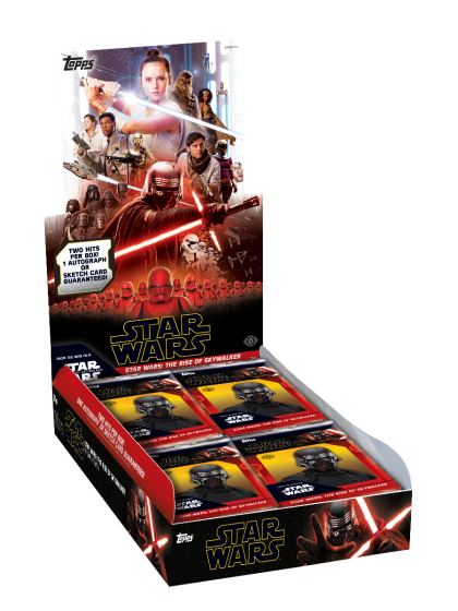2019 Star Wars Episode 9 Hobby Box.