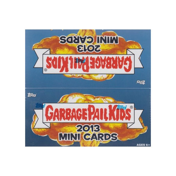 2013 Topps Garbage Pail Kids Mini Cards Factory Sealed Box