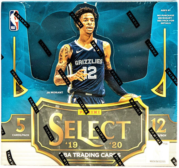 2019/20 Panini Select 1st Off The Line FOTL Basketball Hobby Box