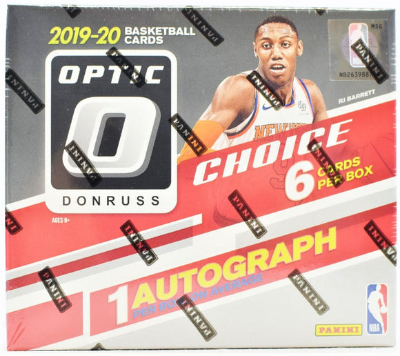 2019/20 Panini Donruss Optic Choice Basketball Hobby Personal Box Break