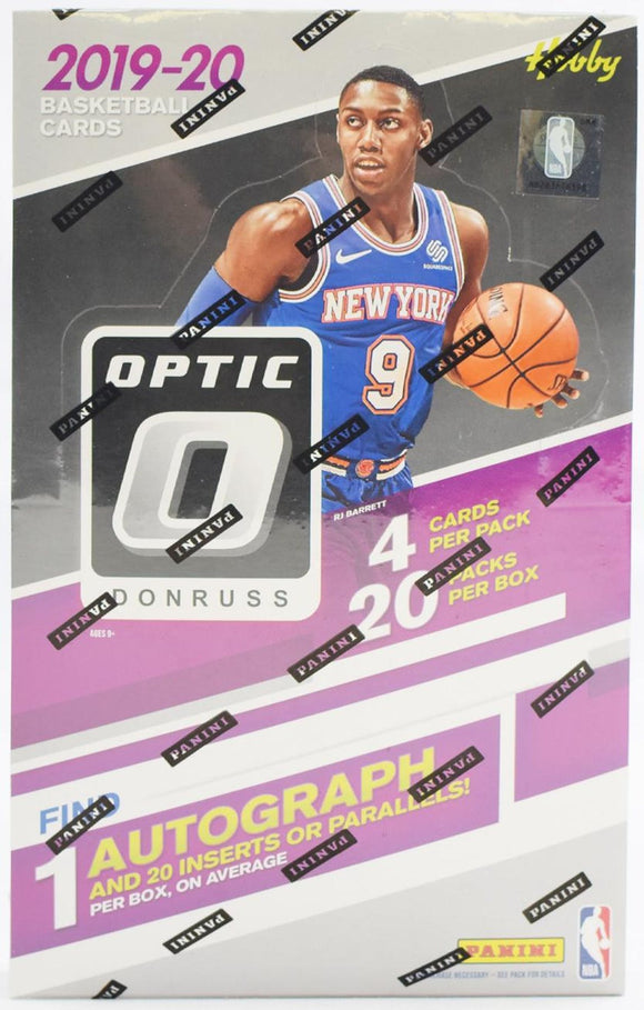 2019/20 Panini Donruss Optic Basketball Hobby Personal Box Break .