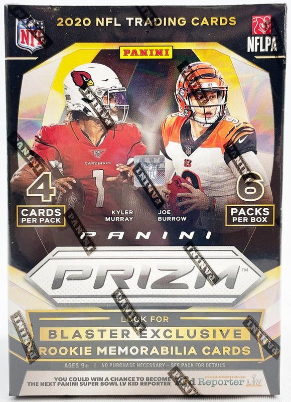 2020 Panini Prizm Football 6-Pack Blaster Box