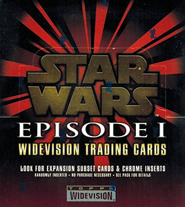 1999 Topps Star Wars Episode 1 Widevision Trading Card Box