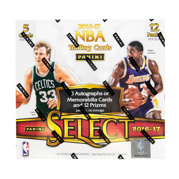 2016/17 Panini Select Basketball Hobby Personal Box Break