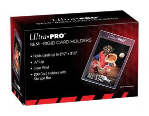 "Ultra Pro Semi-Rigid 1/2"" Lip Sleeves 200-ct"