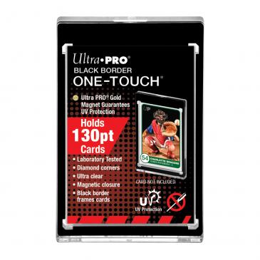 Ultra Pro 130-PT Black Border UV ONE-TOUCH Magnetic Holder
