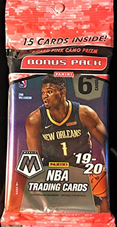 2019-20 Panini Mosaic Basketball *CELLO* Pack Personal