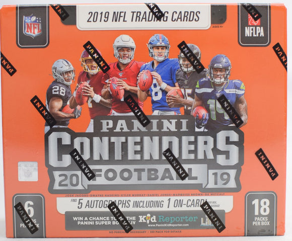 2019 Panini Contenders Football Hobby Box Personal Break