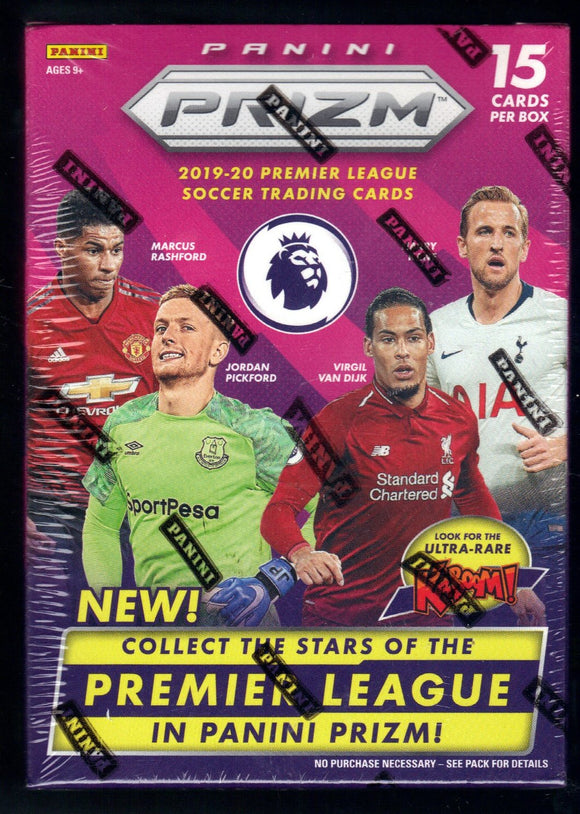 2019/20 Panini Prizm English Premier League Soccer Blaster Box