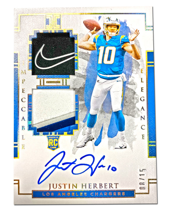 1 LEFT - 2020 Panini Impeccable Football 1-Box Break #4 *HIT DRAFT* (6 SPOTS)