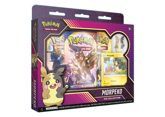 Pokémon Morpeko Pin Collection SHIPPED SEALED OR PICKUP ONLY