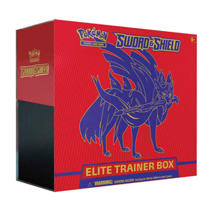 Pokémon TCG: Sword & Shield Elite Trainer Box (Zacian) SHIPPED SEALED OR PICKUP ONLY